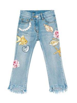Monnalisa Monnalisa Application Jeans