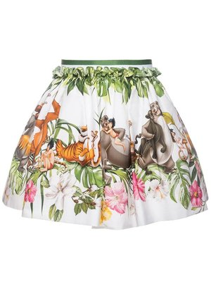 Monnalisa Monnalisa Skirt ST.BALZA JUNGLE