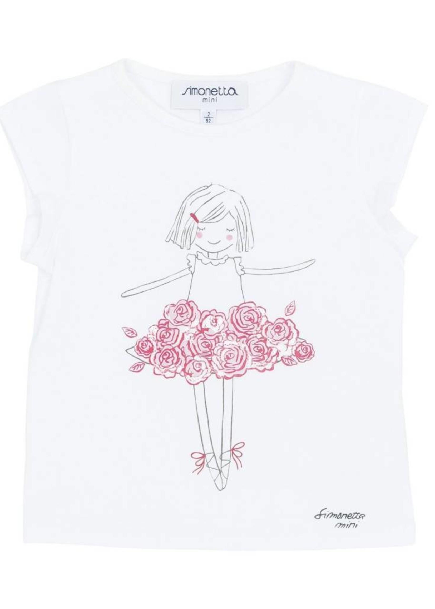 Simonetta Simonetta Ballet T-Shirt
