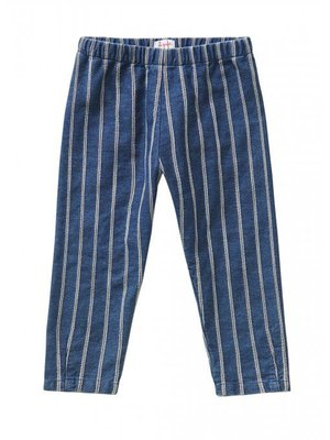 Il Gufo Il Gufo Stripes Denim Trousers