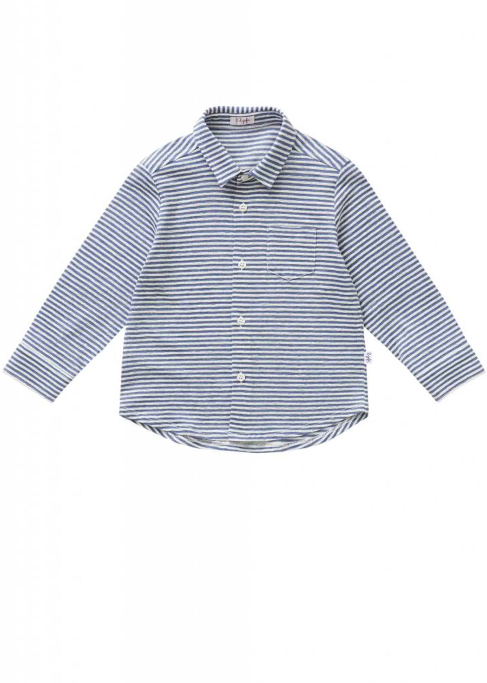 Il Gufo Il Gufo Boys Knitted Shirt