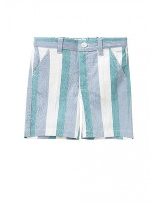 Il Gufo ilgufo Boys Stripes Bermuda Shorts