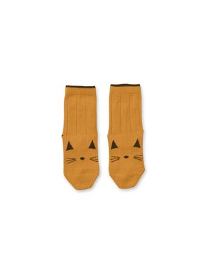 liewood Liewood Silas Cotton Cat Socks
