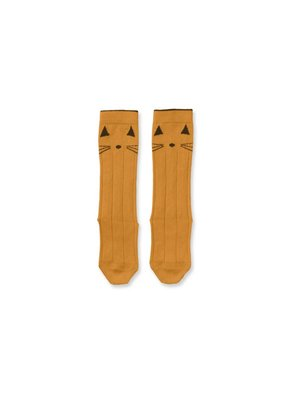 liewood Liewood Sofia Cotton Cat Knee Socks