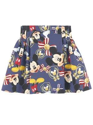 Monnalisa Monnalisa Mickey Mouse Skirt