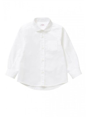 Il Gufo ilgufo Boy Button Oxford Shirt