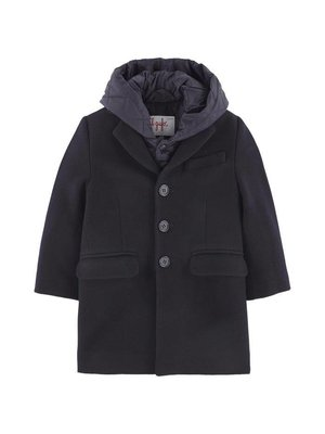 Il Gufo ilgufo Boy Peacoat with hood