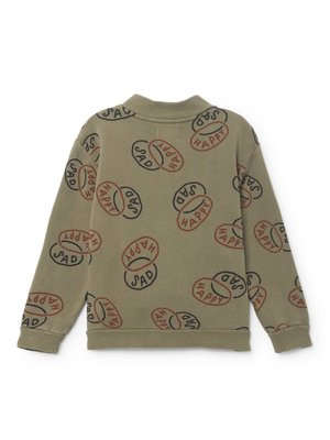 bobochoses BoboChoses Happy Sad button Sweatshirt