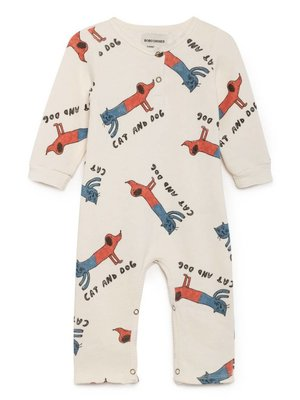 bobochoses BoboChoses Cats and Dogs baby playsuit