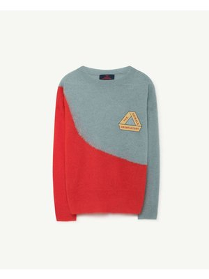 The Animals Observatory TAO Bicolor Bull Kids Sweater