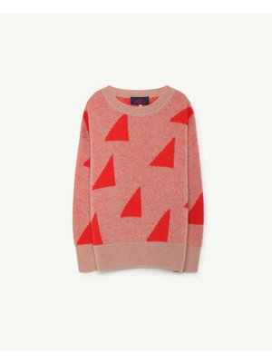 The Animals Observatory TAO Geometric Bull Kids Sweater