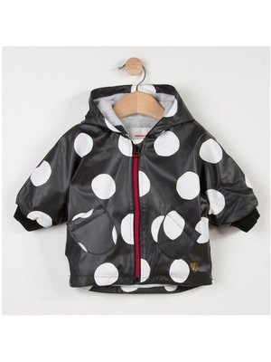 Catimini Catimini Printed rubberized cape coat