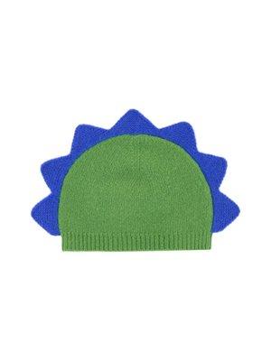 Il Gufo ilGufo Baby Boy Knit Dinosaur Cap