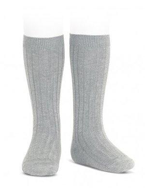 condor Condor Wide Rib Basic Knee High Socks