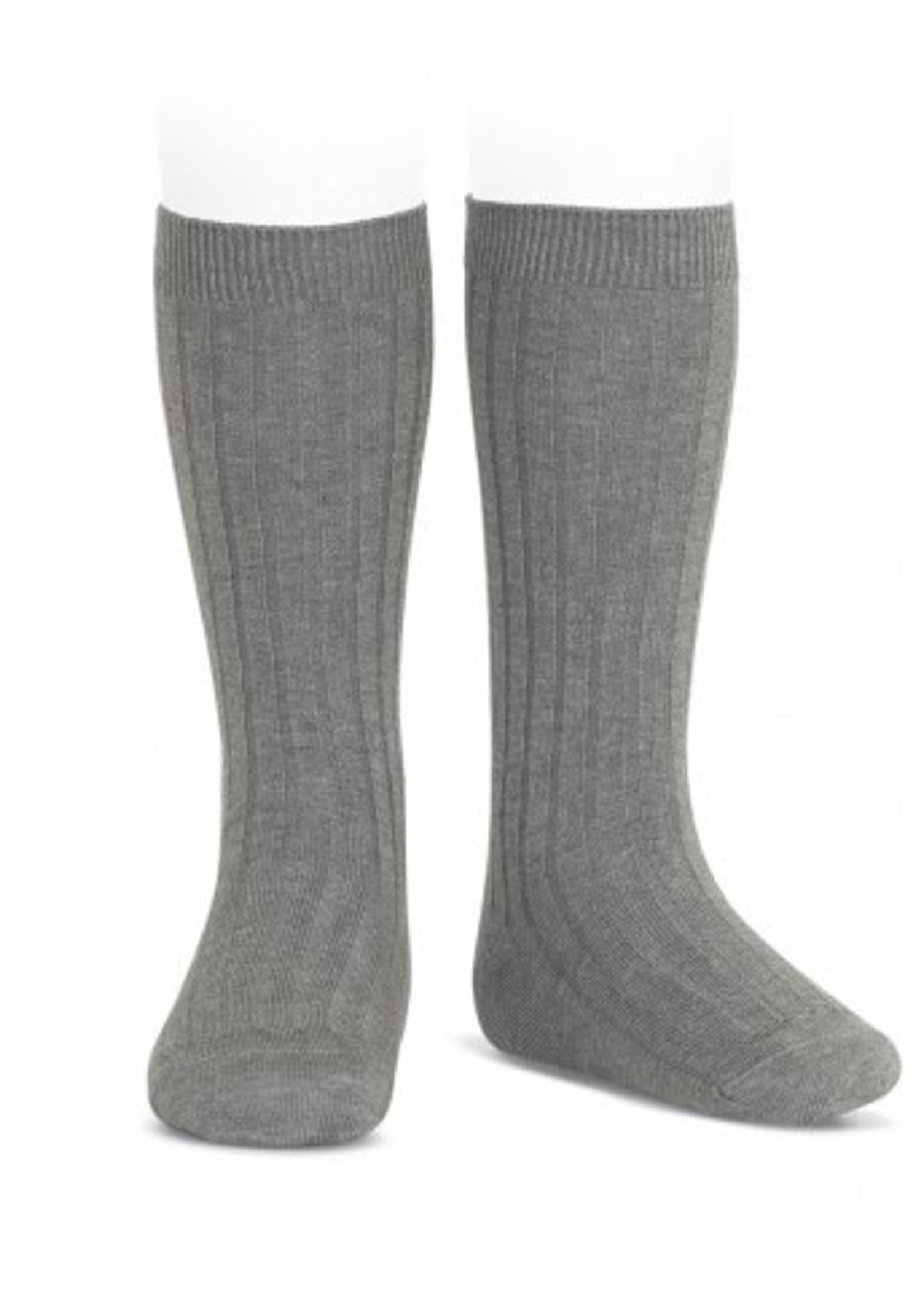 condor Condor Wide Rib Basic Knee High Socks