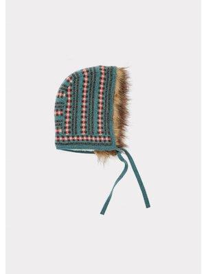 caramel Caramel Moose baby hat