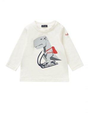 Il Gufo ilGufo Boy Dinosaur T-Shirt