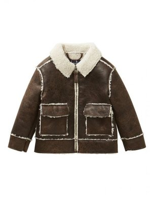 Il Gufo ilGufo Boy Leather Jacket