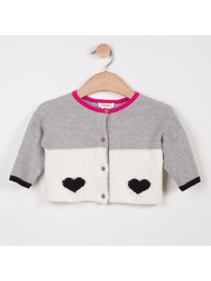 Catimini Catimini Reversible woolly cardigan