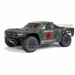 AR102673 2018 1/10 Senton 6S BLX 4WD SC Blk/Grn