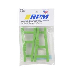 80184 E-Stampede 2wd E-Rustler Rear A-arms Green