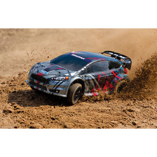 74054-4 Ford Fiesta ST Rally 10th Scale Electric Rally Racer TQ 2.4GHz