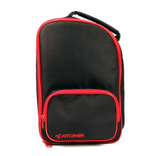 Atomik Transmitter Bag, Black/Red