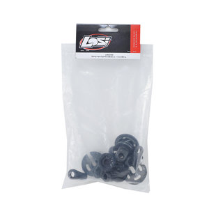 Spring Cups/Clips/Shock Ends (2): 1:5 4wd DB XL