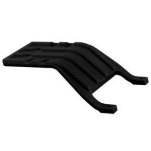 81242 Rear Skid Plate Black Slash 2WD