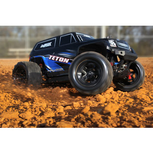 76054-5-Blue Teton 18th Scale 4WD Monster Truck RTR Blue