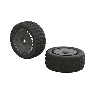 AR550048 KATAR T 6S Tire/Wheel Set Talion (2)