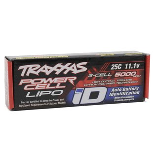 2872X 5000mAh 11.1v 3S 25C LiPo Battery with iD