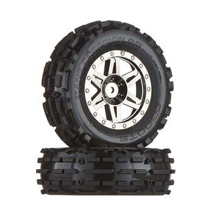 AR550001 Dboots Sand Scorpion XL Front Black Chrome