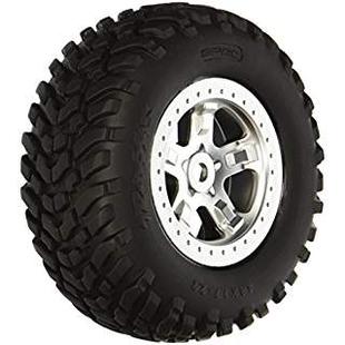 5973 Slayer 4x4 SCT Tires and Wheels Satin Chrome (2)