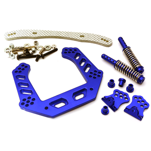 09 Alloy Front Shock Tower for Rustler 2WD (XL5, VXL) T8082BLUE
