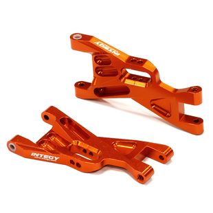 Billet Machined Front Lower Suspension Arms for 1/10 Traxxas Bandit T8703ORANGE