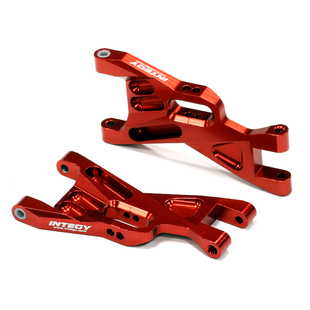 Billet Machined Front Lower Suspension Arms for 1/10 Traxxas Bandit T8703RED