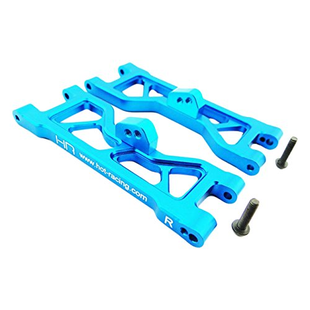 Blue Aluminum Front Arm Set ECX