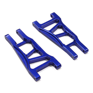 09 Alloy Rear Lower Arms for 1/10 Electric Stampede 2WD & Rustler 2WD (XL5, VXL) T8079BLUE