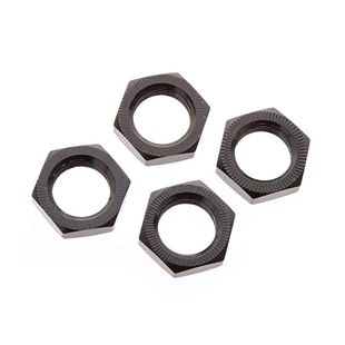 AR310449 Wheel Nut Aluminum 17mm Black (4)