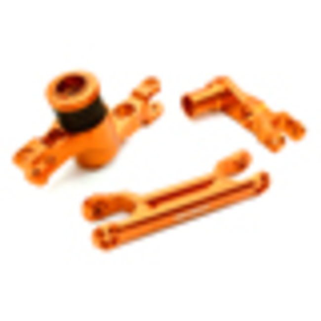 Billet Machined Steering Bell Crank Support for Traxxas X-Maxx 4X4  C27075ORANGE