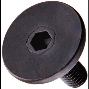 Traxxas 3931 Hex Drive Flat Head Machine Screws, 3x8mm (set of 6)