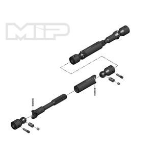 MIP HD Driveline Kit, Traxxas TRX-4 Bronco