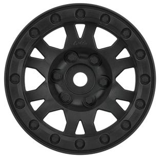 Pro-line Racing Impulse 1.9, Plastic, Black, Bead-Loc, Front/Rear Wheels (2): Crawler