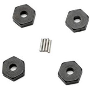 Hex Wheel Hubs (4) : 1/16 SLH, ERV