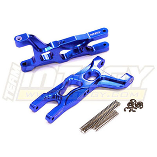 09 Alloy Front Lower Arms for 1/10 Electric Stampede 2WD & Rustler 2WD(XL5, VXL) T8078BLUE