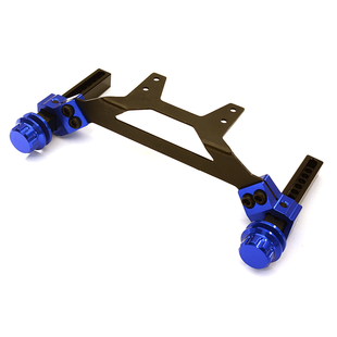 Extended Rear Body Mount & Post Set for Traxxas 1/10 Slash 2WD C27980BLUE