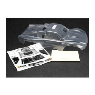 Body, Slayer Pro 4X4 (clear, requires painting)/window masks/decal sheets