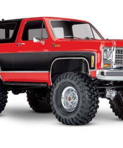 Trx-4 Chevy K5 Blazer Red And Black