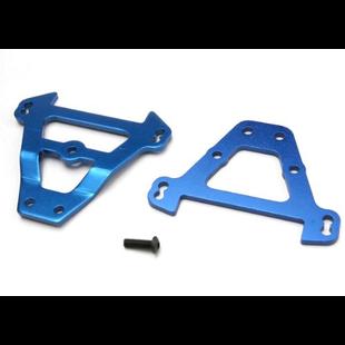 Traxxas 5323 Blue Aluminum Front and Rear Bulkhead Tie Bar, Revo
